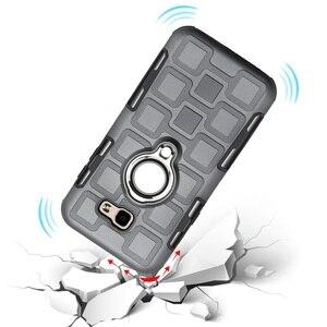Luxus Fall Für Samsung Galaxy A5 A3 A7 2017 Für Samsung A520 A720 A320 A3 A5 A7 2017 Telefon Abdeckung rüstung Harte Ring Stand Fall