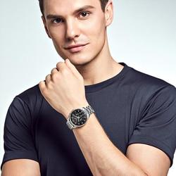Xiaomi Mijia lekki zegarek mechaniczny-elity biznesu serii wielofunkcyjny Dial importowane wysokiej zamówienie ruch 4