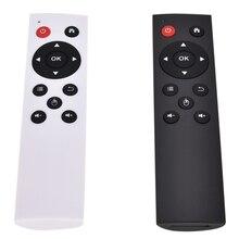אוניברסלי 2.4G Wireless אוויר עכבר מקלדת שלט רחוק עבור מחשב אנדרואיד טלוויזיה קופסא שחור/לבן