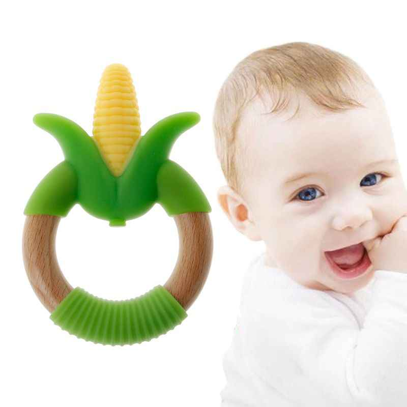 Water Filled Baby Teether Ring Star BPA Free Soother Sore Gums Toddlers Boy Girl