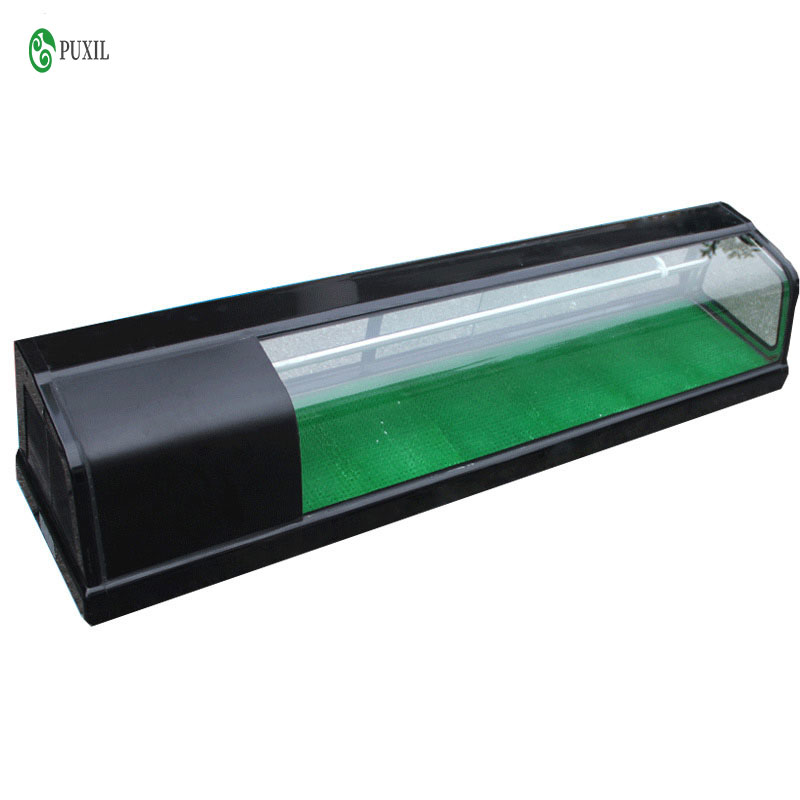 1.2m Sushi Cabinet Single Layer 220V 210W 50Hz Cool Cabinet Refrigerated Food Display Cabinet