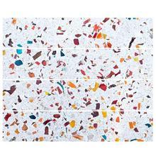 Textura Floral Vintage cuadrado Auto adhesivo PVC impermeable azulejos mosaico pared pegatina cocina baño azulejo del baño pegatinas