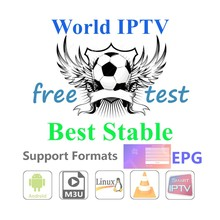 Code de Test gratuit arabe USA Europe asie italie IPTV UK VIP sports VOD IPTV m3u abonnement adulte X X iptv panneau revendeur(China)