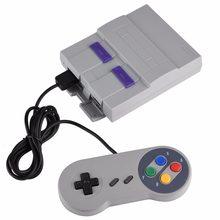 Consola de juegos con doble mando para SNES, videoconsola con 94 /620 Mini juegos integrados para Nintendo Super de 16 bits