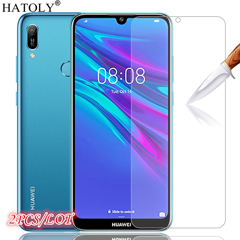 2Pcs For Glass Huawei Y6S 2020 Tempered Glass For Huawei Y6S Screen Protector HD Phone Film Protective Glass For Huawei Y6S 2020