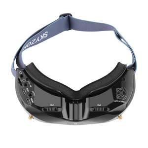 Image 4 - SKYZONE SKY02X 5,8 Ghz 48CH FPV Goggles Unterstützung 2D/3D HDMI Kopf Tracking Mit Fan DVR Kamera Für RC racing Drone Modell Flugzeug