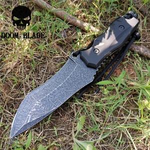 Image 3 - سكين مستقيم 8CR13MOV شفرة فولاذية ثابتة المحمولة التكتيكية أداة السكاكين جيدة للصيد التخييم بقاء في الهواء الطلق كل يوم