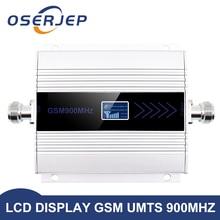 Gsm משחזר 900 MHz 2g מהדר LCD תצוגת מיני GSM900MHZ נייד אותות בוסטרים GSM 900 MHz מהדר טלפון סלולרי מגבר