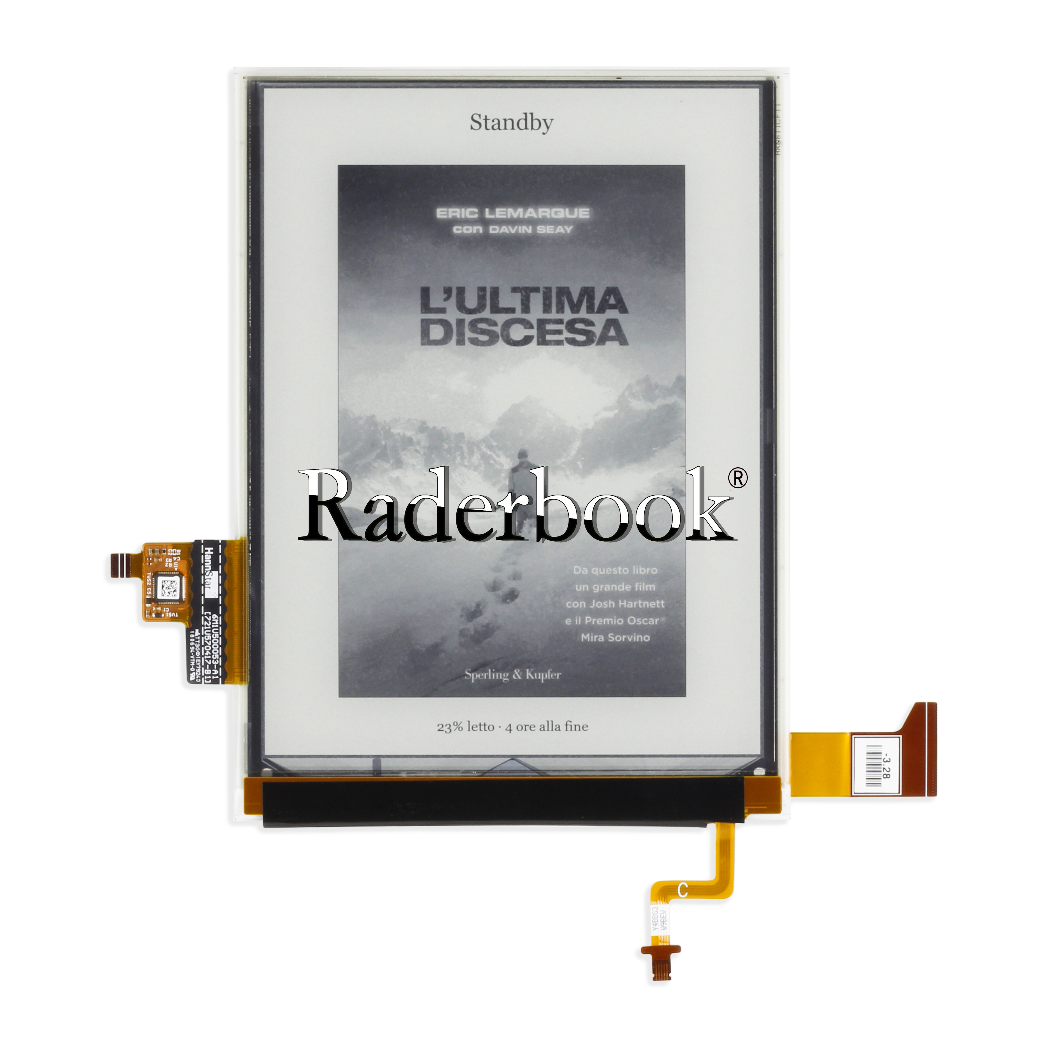 6 inch 1440x1072 Touch Panel with Backlight For KOBO Clara HD N249 Screen Eink E-book reader Display