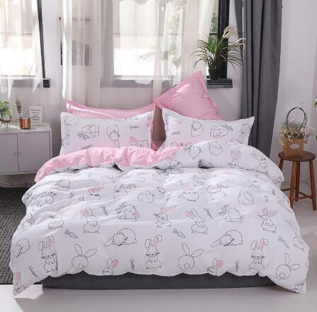 quilt cover <font><b>200</b></font> × <font><b>150</b></font> *2;flat sheet <font><b>200</b></font>*230cm*1;Pillowcase 48 * 74cm * 2 image