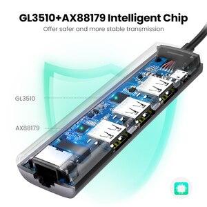 Image 4 - Ugreen adaptateur Ethernet USB 3.0 vers RJ45 3.0, adaptateur HUB pour ordinateur portable Xiaomi Mi Box S/3, carte réseau, USB Lan