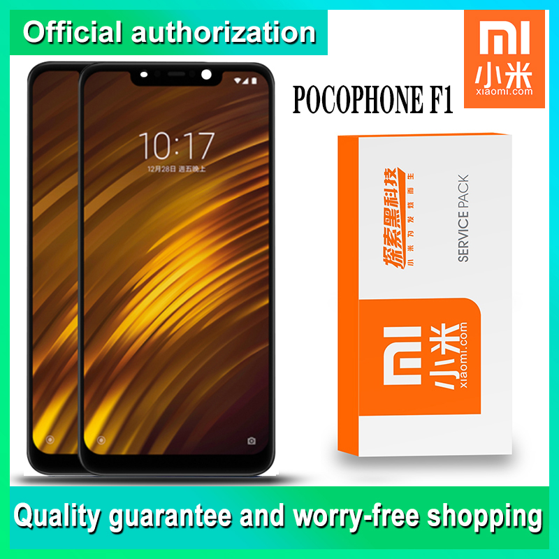 Xiaomi Digitizer-Assembly Touch-Screen Pocophone Original for F1 LCD