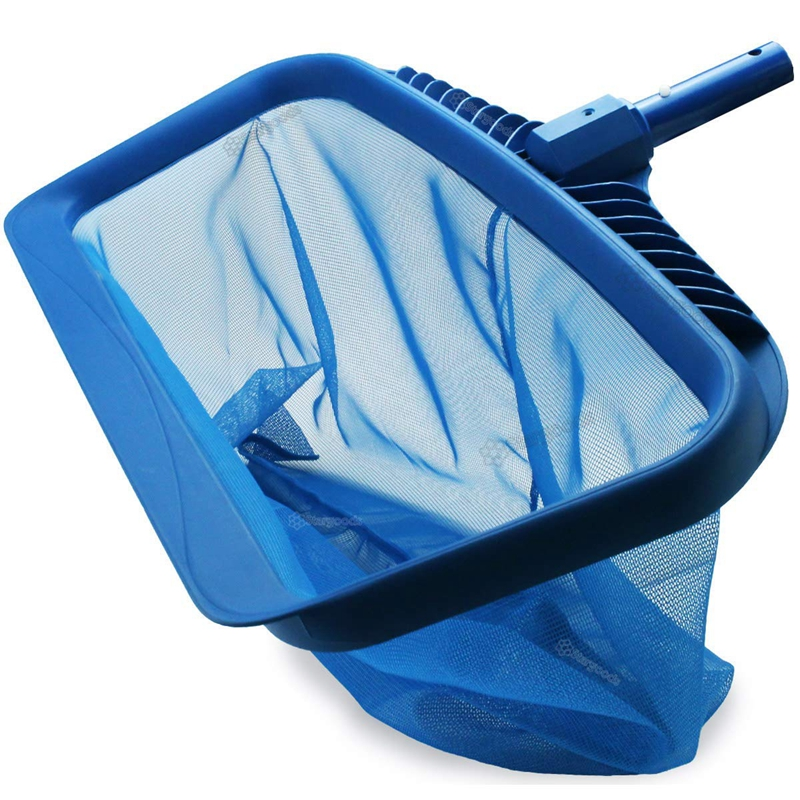 Skimmer Net  Heavy Duty Leaf Rake Cleaning Tool  Fine Mesh Net Bag Catcher|Cleaning Tools| |  -