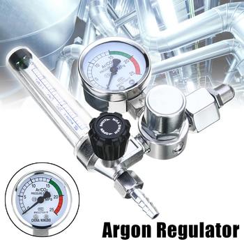 0-25Mpa Argon Regulator CO2 Mig Tig Flow Meter Gas Flowmeter Welding Weld Gauge Pressure Reducer