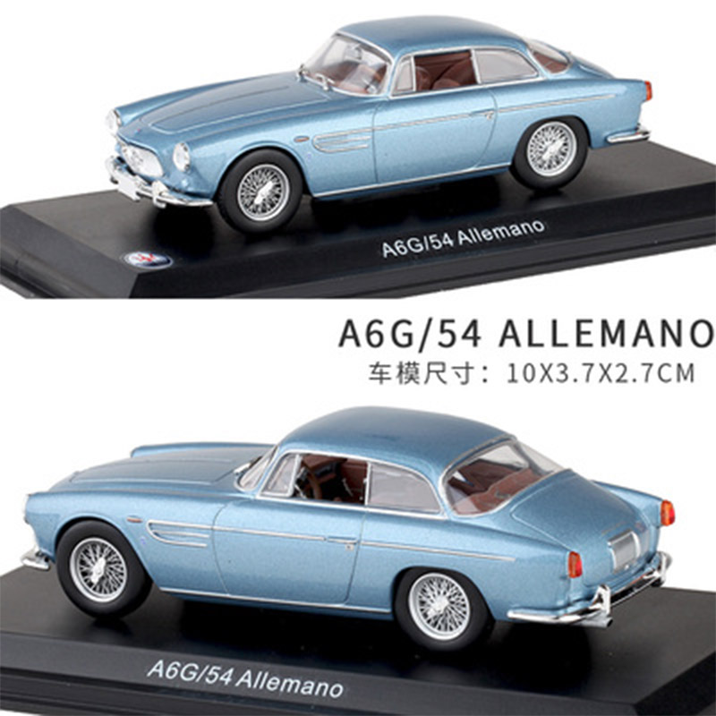 1:43 LEO Alloy Car Model Maserati A6G/54 ALLEMANO Collection Decoration Kids Toys Give Your Child The Best Gift