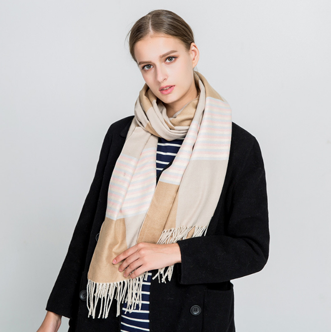 180*65cm Cashmere imitation Shawl Scarf Autumn Winter Scarves Men Foulard Square Hijab Ladies wrap muffler pareo female hijab