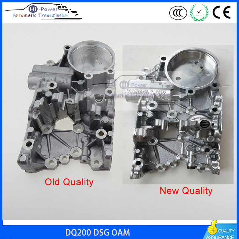 1PCS New DQ200 DSG 0AM With 4 6MM Auto Transmission Accumulator Housing for Audi VW 0AM325066AC 0AM325066R 0AM325066C DQ200