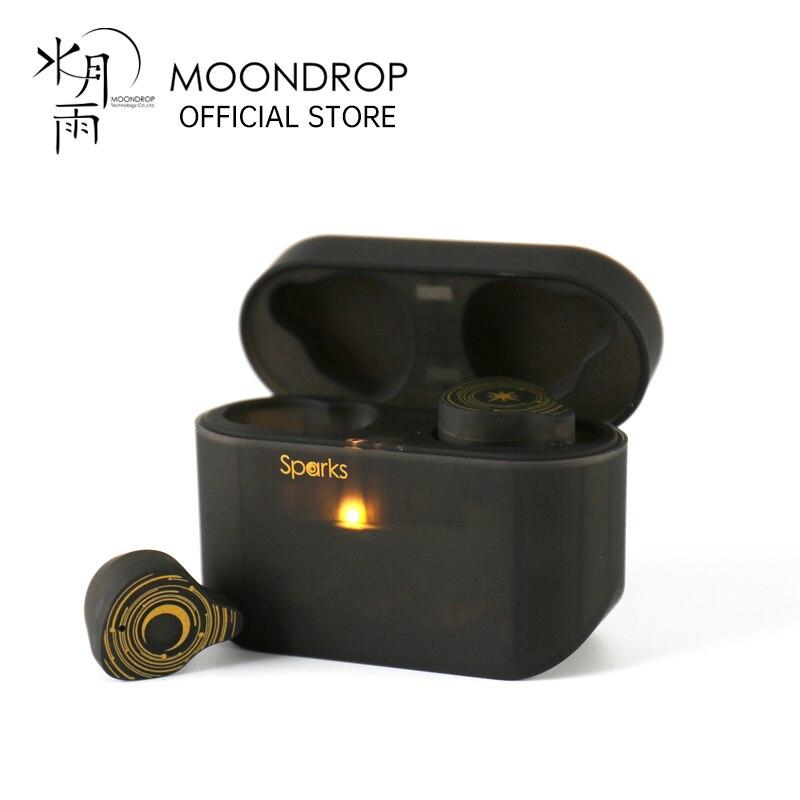 Беспроводные стереонаушники MoonDrop sparktrue, Bluetooth 5,2, динамические наушники, TWS гарнитура