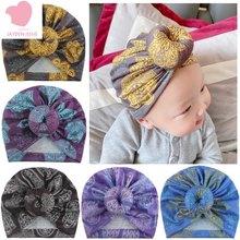 Chapéu de donut impresso exótico do bebê 2020 novo estilo jóias das crianças chapéu de donut bonito criativo bebê recém-nascido bola impressão toque