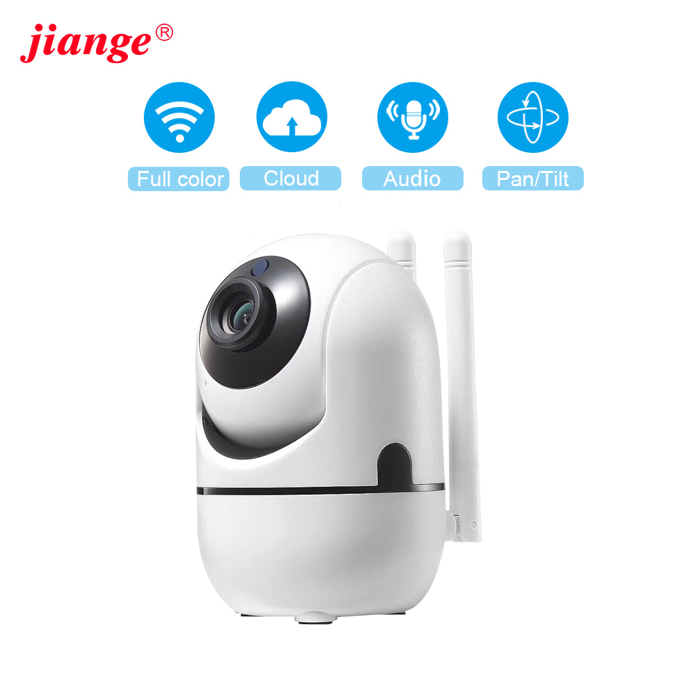 Jiange Cloud Camera Wifi 1080P Indoor Home Surveillance Wireless Ycc365plus Of Smart Home Baby Monitor With Auto Tracking