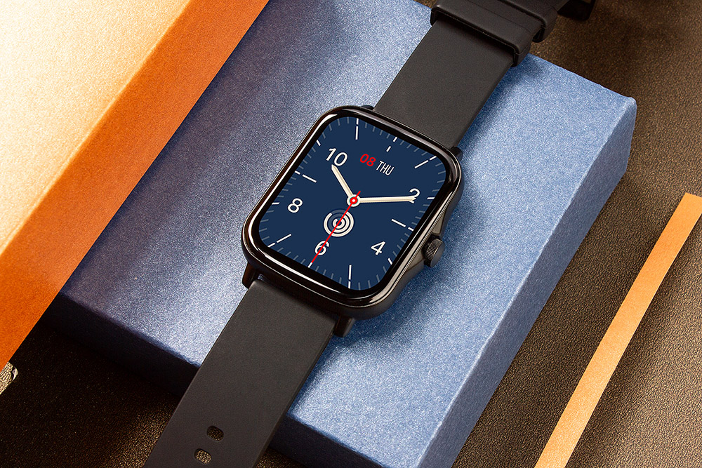 H950bf94a3546436587b50dfdd5fc8258Q COLMI P8 Plus 1.69 inch 2021 Smart Watch Men Full Touch Fitness Tracker IP67 waterproof Women GTS 2 Smartwatch for Xiaomi phone