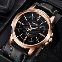2021 NEW Quartz Watch Classic Men Business Wrist Watches Strap For Men Women Wristwatch Band Leather Bracelets Male Clock Hours
