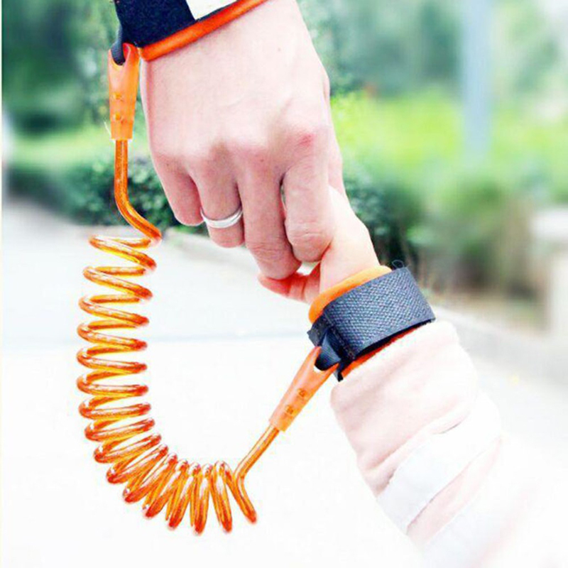 Anti Lost Wrist Link Toddler Leash Safety Harness For Baby Strap Rope Outdoor Walking Hand Belt Band Anti-lost Wristband Kids