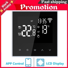 Wifi Thermostat For Electric/Water Floor Heating Temperature Controller For Smart Life Work With Alexa Google Home