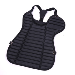 Long glowa Sports-Export Quality Lightweight Baseball Catcher Taking over for Chest Protector Adult Juvenile Universal Black And