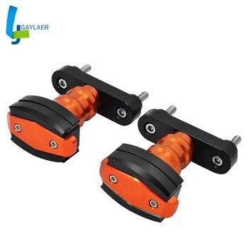 CNC Falling Protection Left and Right Frame Sliders Protector for KTM DUKE 125 200 DUKE 390 2013-2018