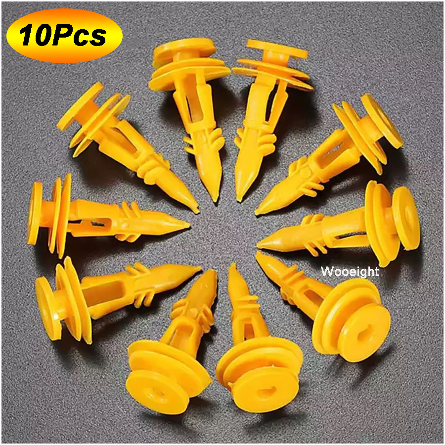 20x Tailgate Door Card Yellow Push Pin Clips Trim For Jeep Grand Cherokee ZJ