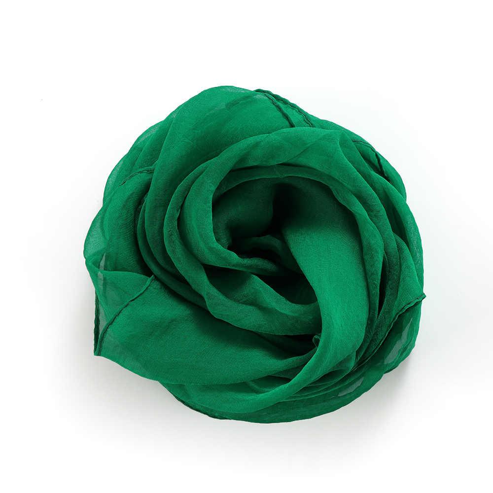 70X70CM Mode Effen Kleur Vrouwen Vierkante Sjaal Nep Zijde Wraps Elegante Bloemen Lente Zomer Hoofd Hals Haar tie Band Halsdoek