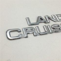 Dla Toyota Land Cruiser Prado tylne Trunk Boot godło Hatchback odznaka Logo ozdoba samochodu
