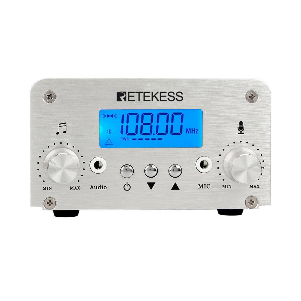 Image 4 - Retekess Wireless FM Transmission System TR502 15W FM Transmitter+10pcs PR13 Radio +Antenna for Church Meeting TranslationMicrophones   -