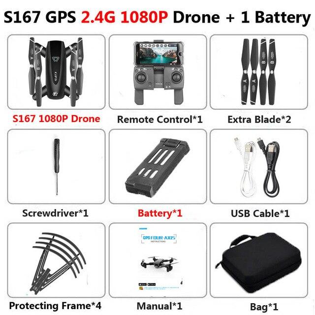 Mini Drone 4K 1080P Follow Me GPS Wifi 2.4G 5.8G Drone 4k Profesional Rc Helicopter 6ch Nitro Quadcopter HD Camera long range