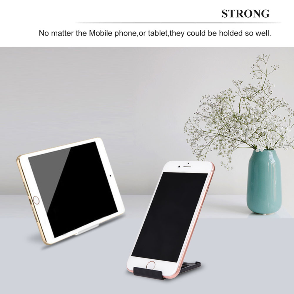 Holders For Phone On The Table Supports For Mobile Blue Black Red Yellow Plastic Telephone Accessories For Iphone Holder On Desk