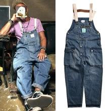 Cargo Jeans Loose Joggers Denim Overalls Jumpsuit Men Streetwear Hip-Hop Male Fashion