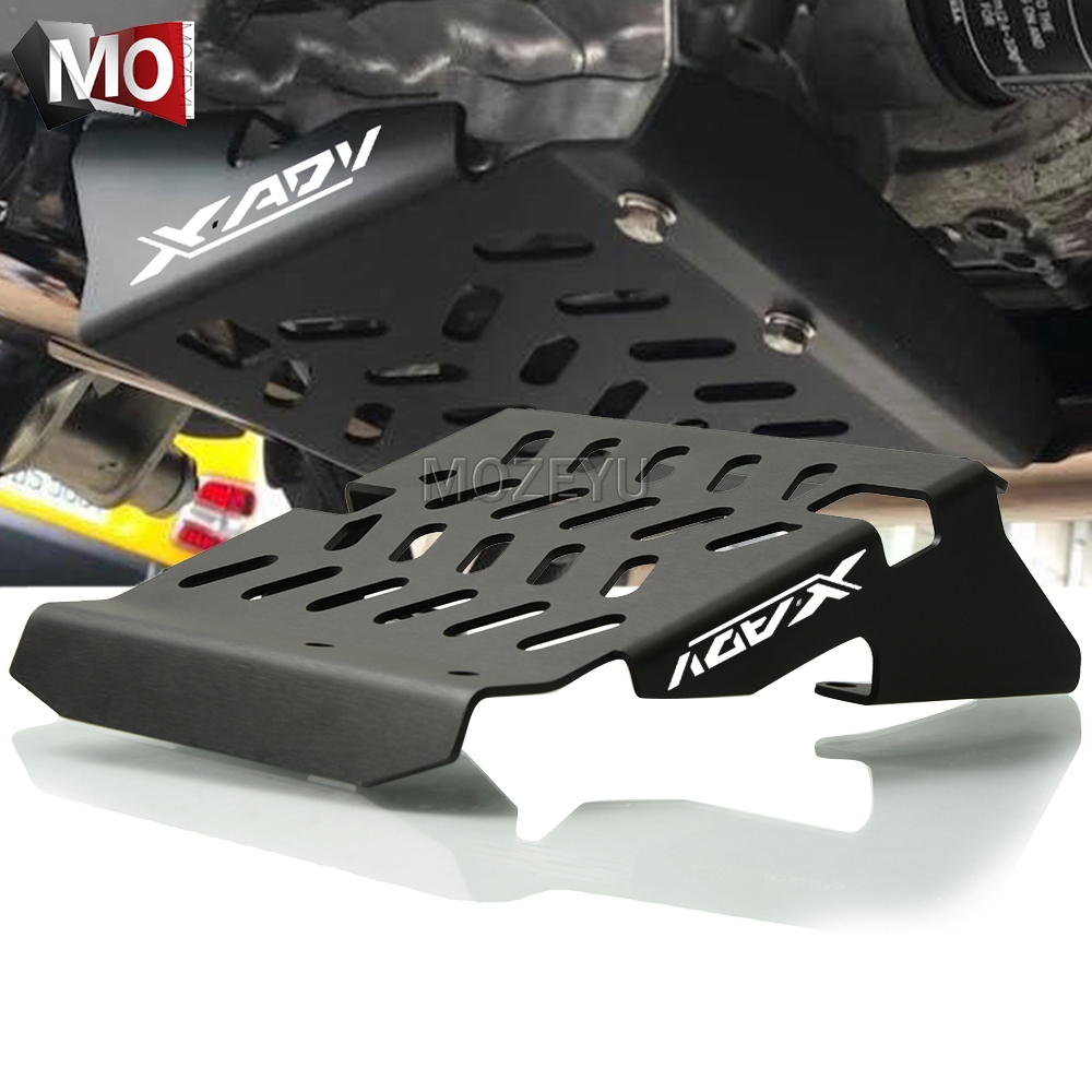 Motorcycle XADV Accessories For Honda XADV X-ADV X ADV 750 300 1000 2017-2019 Skid Plate Engine Guard Chassis Protection Cover