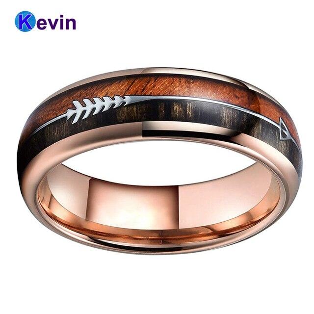 Обручальное кольцо из вольфрама для мужчин и женщин обручальное