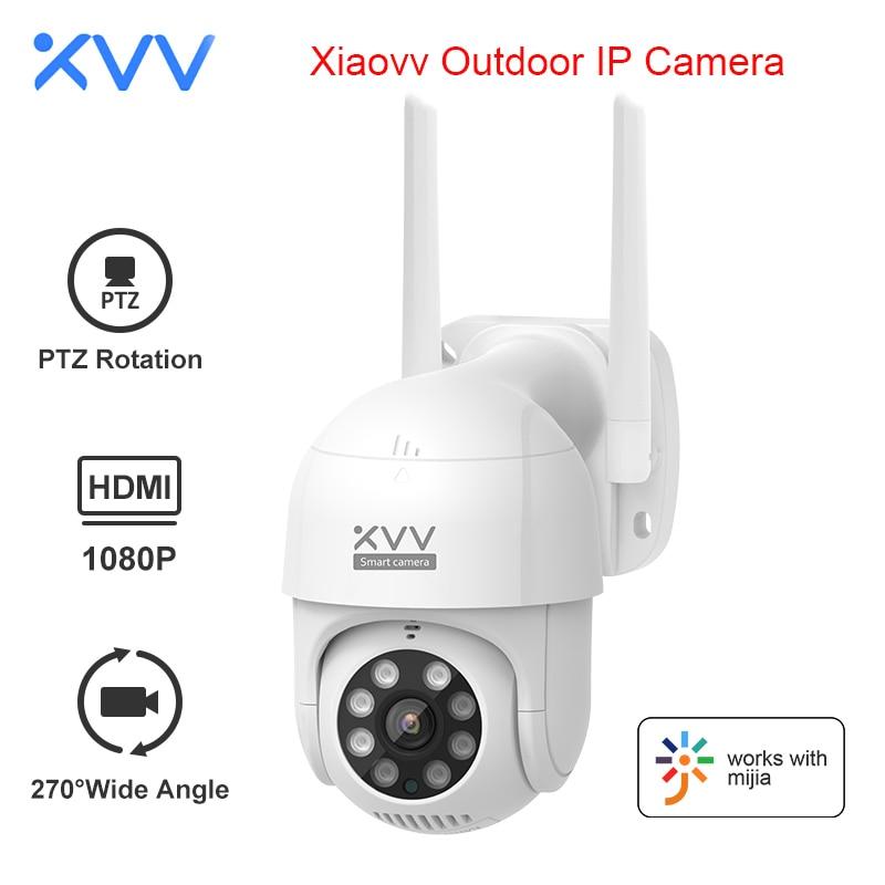 Xiaomi Smart P1 наружная камера 1080P 270 ° PTZ поворот Wifi веб-камера гуманоидный обнаруживает водонепроницаемые камеры безопасности Работа для прилож...