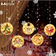 Новый рождественский светильник s светодиодный Шторы достаточно