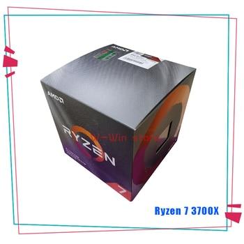 New AMD Ryzen 7 3700X R7 3700X 3.6 GHz Eight-Core Sinteen-Thread CPU Processor 7NM L3=32M 100-000000071 Socket AM4 with cooler 1
