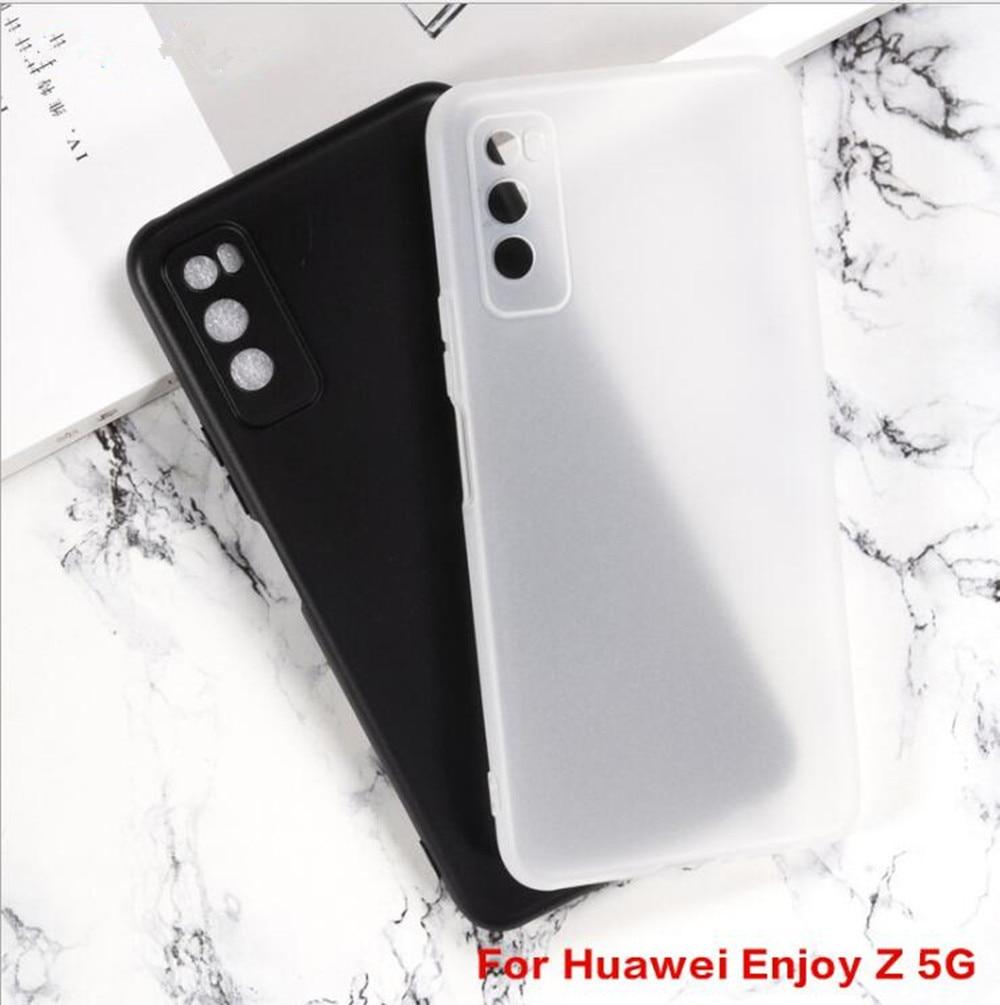 Para huawei enjoy z 5g casos anti-knock macio tpu caso para huawei desfrutar z 5g anti skid silicone proteção capa traseira