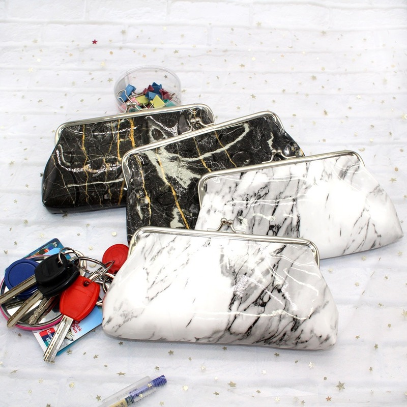 ETya Marble Stone Women Cosmetic Bag Travel Make Up Bags Vintage Pouch Large Size Neceser Toiletry Organizer Case Clutch Tote