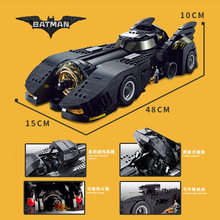 Конструктор Decool 7144 Bricks Technic, совместимая с Legoed Car The Ultimate Batmobile Bulding Blocks DC Super Heroes(China)