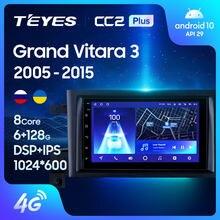 TEYES CC2L CC2 Plus For Suzuki Grand Vitara 3 2005 - 2015 Car Radio Multimedia Video Player Navigation GPS Android No 2din 2 din