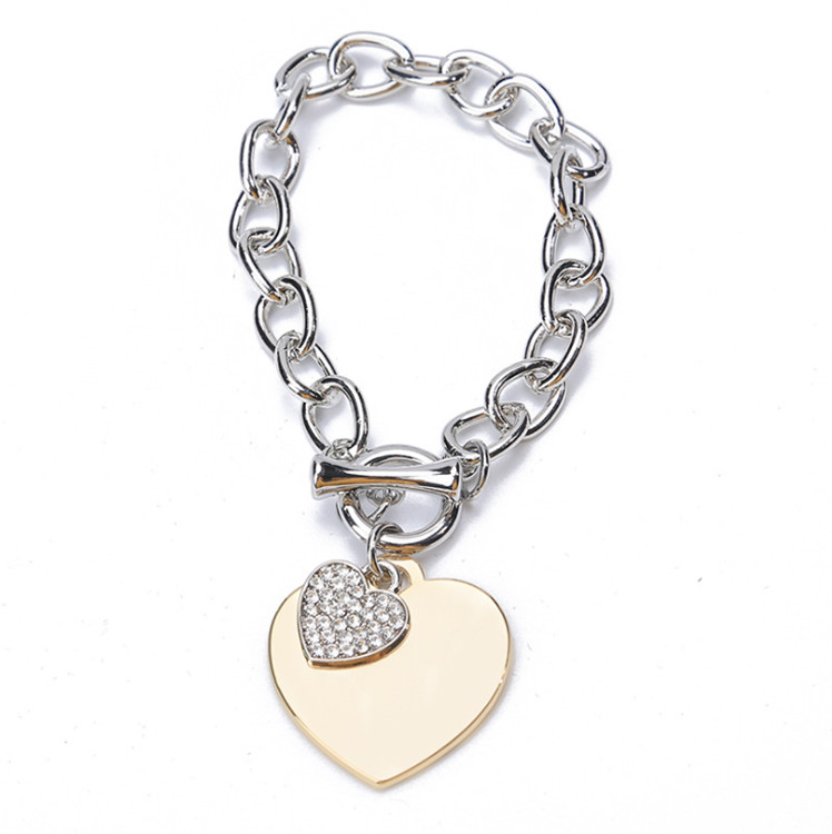 New Fashion Bracelets For Women Chain Charms Women's Bracelet Engagement Gifts TTSL202-S