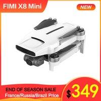 FIMI-Dron X8 Mini 250g-Class 4K HD 3 ejes cardán Cámara Wifi 5G 8km 30 minutos GPS RC Quadcopter con protector de utillaje