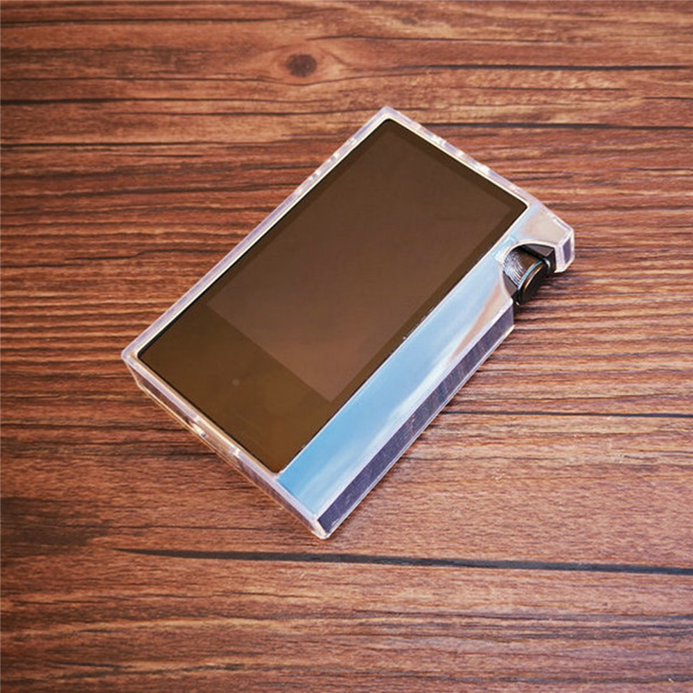 For Iriver Astell&Kern AK70 MKII Protective Cover Soft Crystal Clear Case Skin with Front Rear Tempered Glass Film image