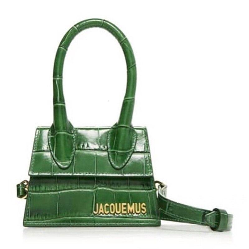 Luxury Purses And Handbags Designer Jacquemus Sac Main Femme Mini Crossbody Bags For Women 2020 Corcodile Chain Women Handbag